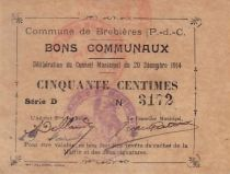 France 50 Centimes Brebieres