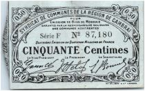France 50 Centimes Cambrai Commune