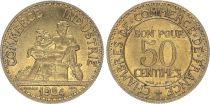 France 50 Centimes Chambre de Commerce - 1924