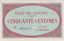 France 50 Centimes Clichy