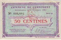 France 50 Centimes Cornimont