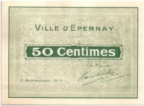 France 50 Centimes Épernay 2 cachets