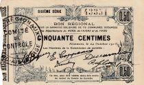 France 50 Centimes Fourmies - Sixième série -  08/05/1916