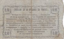 France 50 Centimes Fourmies City - 1916