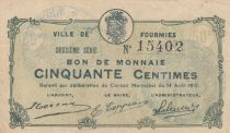 France 50 Centimes Fourmies