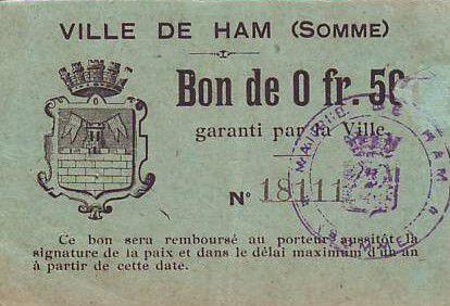France 50 Centimes Ham