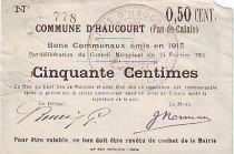 France 50 Centimes Haucourt