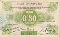 France 50 Centimes Hautmont