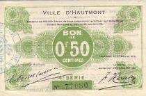 France 50 Centimes Hautmont