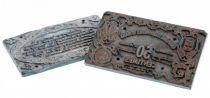 France 50 Centimes Le-Mans Paire de plaques d´impressions