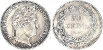 France 50 Centimes Louis-Philippe 1er - 1847 A Paris