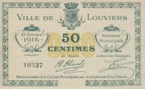 France 50 Centimes Louviers Emission Municipale