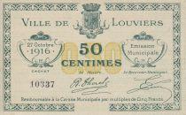 France 50 Centimes Louviers Municipal emission