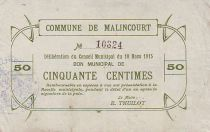 France 50 Centimes Malincourt