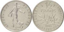 France 50 Centimes Marianne Piéfort 1980 - sous sachet Monnaie de Paris - Argent
