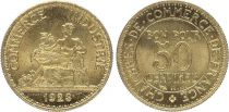 France 50 Centimes Mercury seated - 1923
