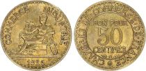 France 50 Centimes Mercury seated - 1926