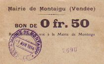 France 50 Centimes Montaigu