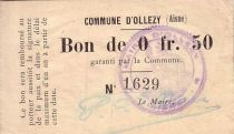 France 50 Centimes Ollezy