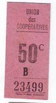 France 50 Centimes Paris Union des coopératives