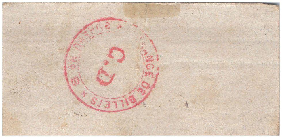 France 50 Centimes Regny City - 1915