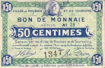 France 50 Centimes Roubaix-Tourcoing Sans date