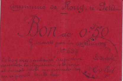 France 50 Centimes Rouy-Le-Petit