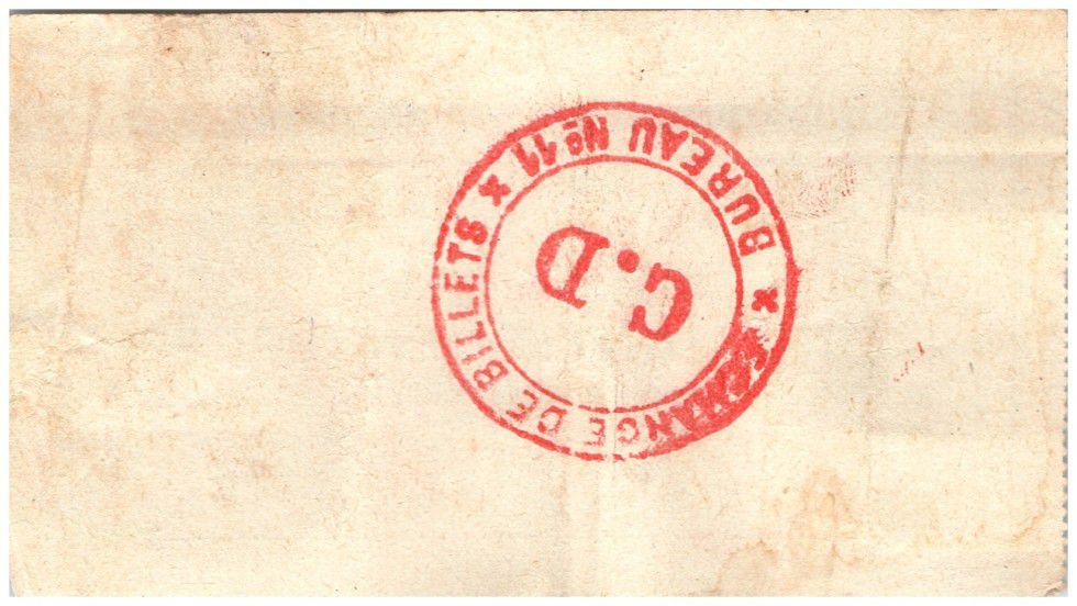 France 50 Centimes Seboncourt City - 1915