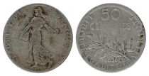 France 50 Centimes Semeuse - 1898