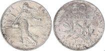 France 50 Centimes Semeuse - 1900 - Argent