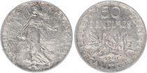 France 50 Centimes Semeuse - 1901 - Argent