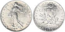 France 50 Centimes Semeuse - 1913 - Argent