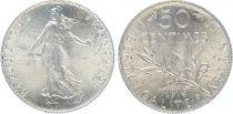 France 50 Centimes Semeuse - 1913