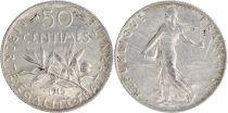 France 50 Centimes Semeuse - 1915