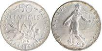 France 50 Centimes Semeuse - 1916