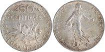 France 50 Centimes Semeuse - 1917