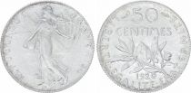 France 50 Centimes Semeuse - 1920