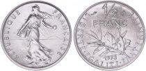 France 50 Centimes Semeuse - 1973 issu de coffret FDC