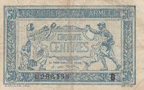 France 50 Centimes Tresorerie aux armees - 1917