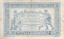 France 50 Centimes Trésorerie aux armées - 1919 Série Z - PTB