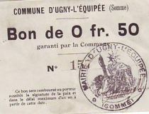 France 50 Centimes Ugny-L´equipee
