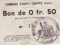 France 50 Centimes Ugny-L´equipee
