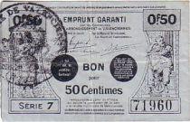 France 50 Centimes Valenciennes