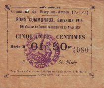 France 50 Centimes Vitry-En-Artois