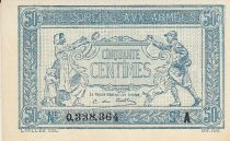 France 50 Centimes Woman and soldier -  1917 A 0.338.364