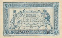 France 50 Centimes Woman and soldier -  1917 B 0.476.260