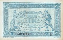 France 50 Centimes Woman and soldier -  1917 E 0.378.429