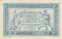 France 50 Centimes Woman and soldier -  1917 E 0.875.825