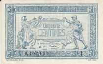 France 50 Centimes Woman and soldier -  1917 I 0.497.132