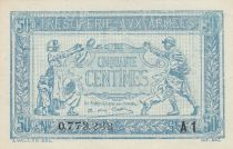 France 50 Centimes Woman and soldier -  1919 A1 0.773.233